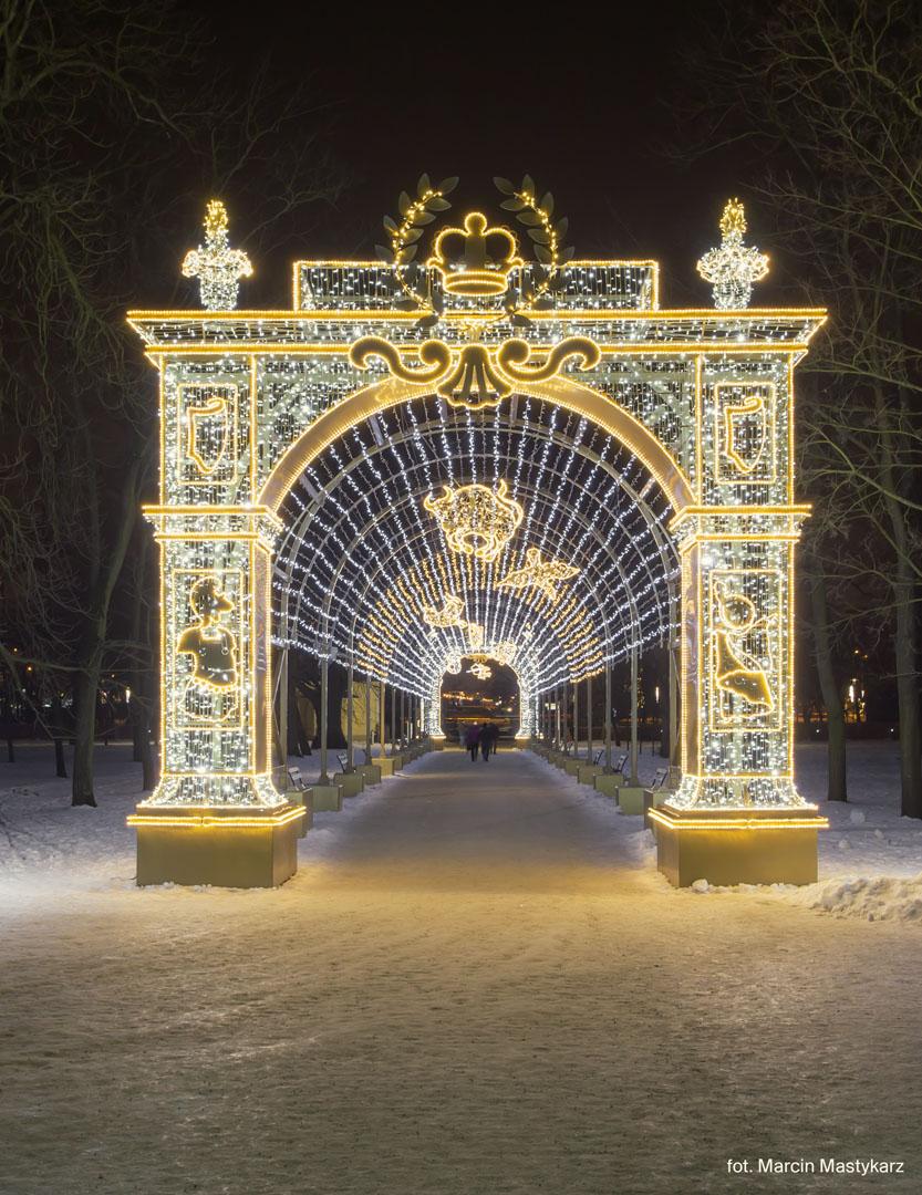 Królewski Ogród światła W Wilanowie Kurier Warszawski