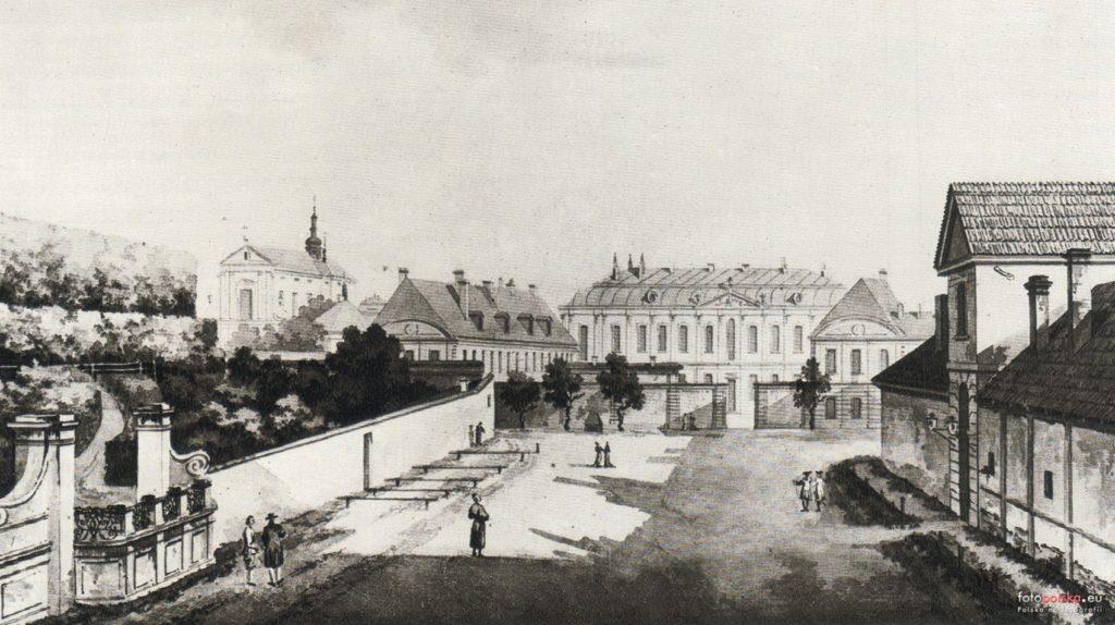 Pałac Błękitny w Warszawie przy ul. Senatorskiej