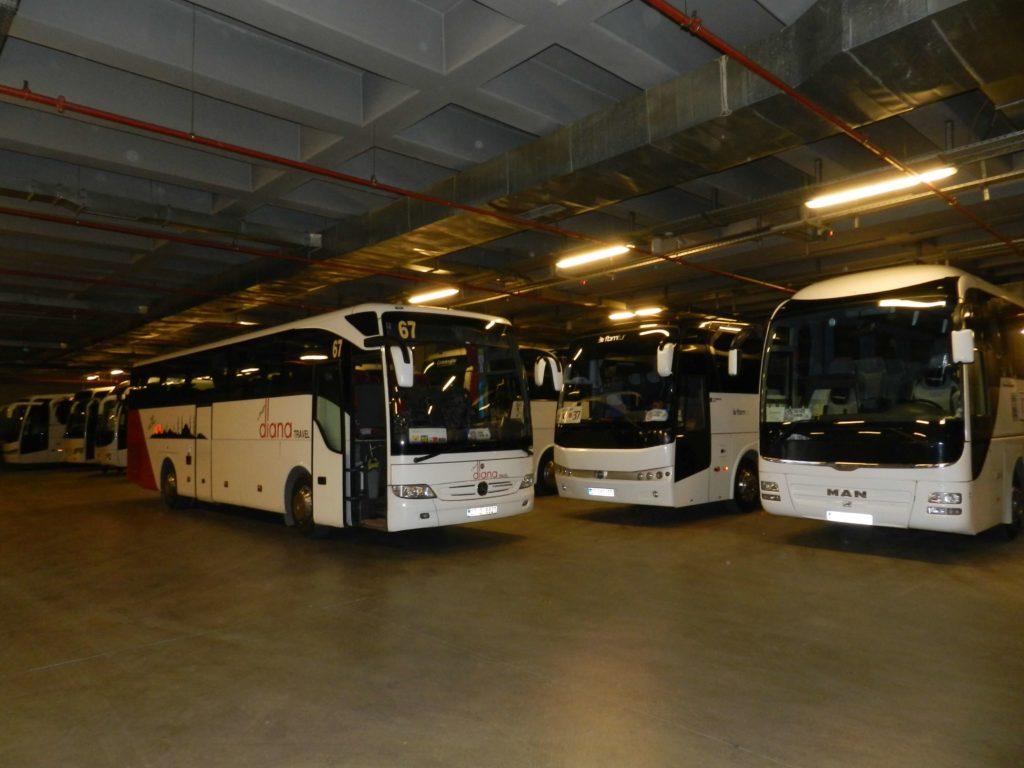 Luksusowy parking dla autokarów w Stambule
