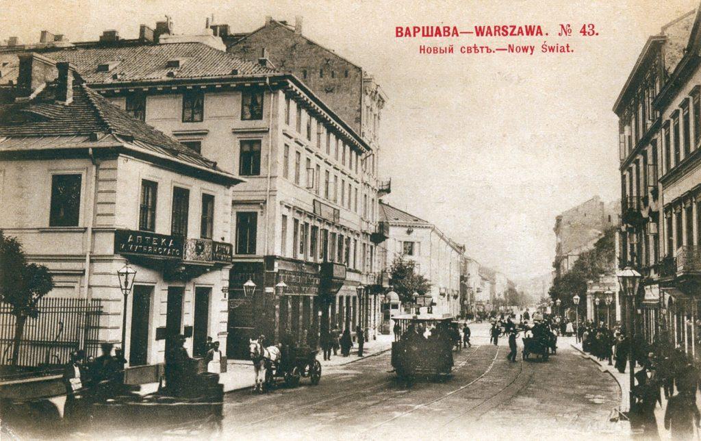 Warszawa Nowy Świat 43