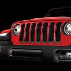 Grill nowego Jeepa Wrangler