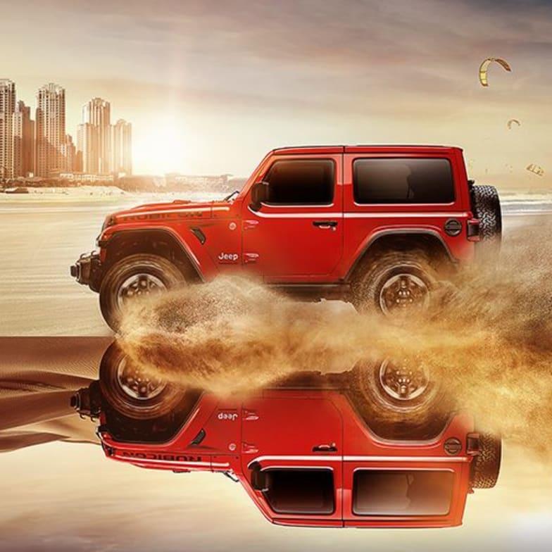 Jeep Wrangler - reklama